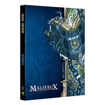 Malifaux 3rd Edition - Arcanist Faction Book - EN - Wyrd