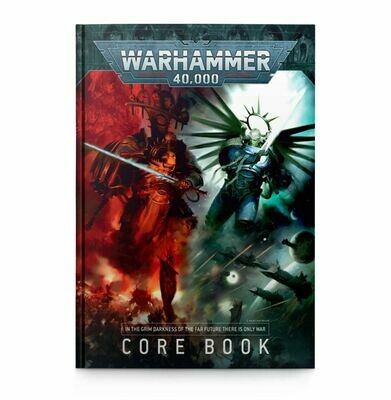 WARHAMMER 40000: CORE BOOK (ENGLISH) - Games Workshop