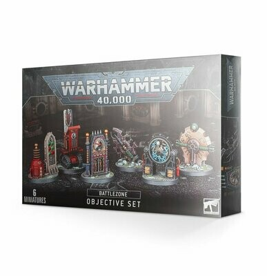 BATTLEZONE: MANUFACTORUM OBJECTIVE SET - Games Workshop