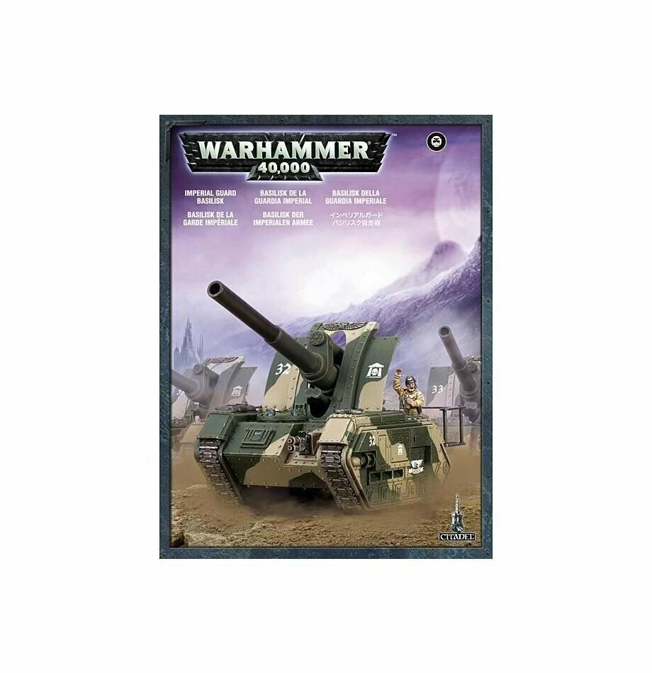 MO: Astra Militarum Basilisk - Warhammer 40.000 - Games Workshop