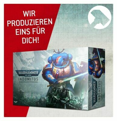 Auftragsfertigung (!) WARHAMMER 40000: INDOMITUS (DEUTSCH) - Games Workshop