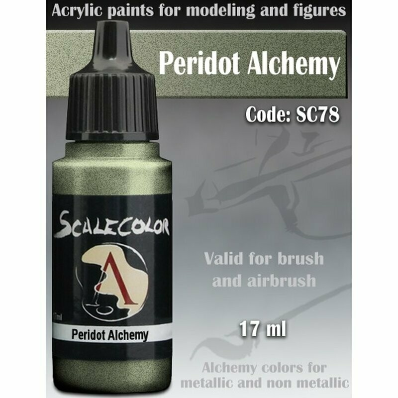 Peridot Alchemy - Scalecolor - Scale75