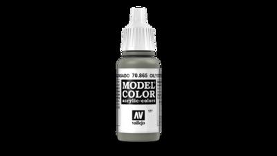 Model Color Oily Steel 17ml Metallic - Vallejo - Farben