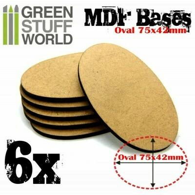 60x35mm AOS oval MDF Basen - Greenstuff World