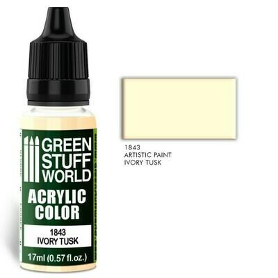 Acrylic Color IVORY TUSK  - Greenstuff World