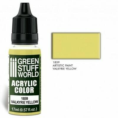 Acrylic Color VALKYRIE YELLOW  - Greenstuff World