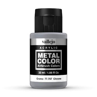 Vallejo Metal Color 77.707 Chrome - Vallejo