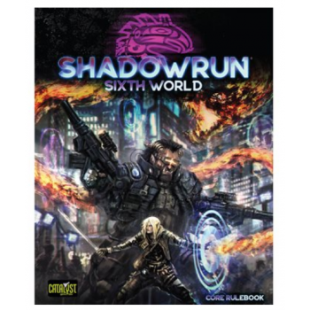 Shadowrun Sixth World Edition - EN - Rollenspiel