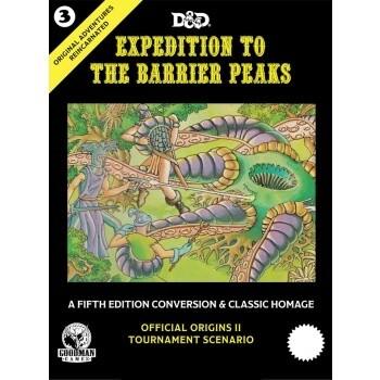 D&D Dungeons&Dragons - Original Adventures Reincarnated #3: Expedition to the Barrier Peaks - EN - EN