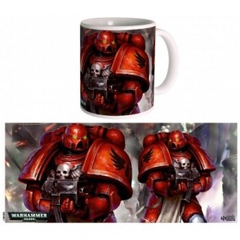 Blood Angels Space Marines Mug Tasse - Warhammer 40K