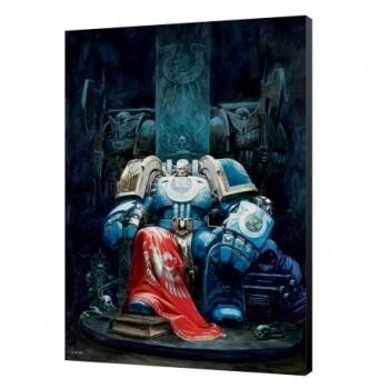 Marneus Calgar Wood Panel - Warhammer 40K