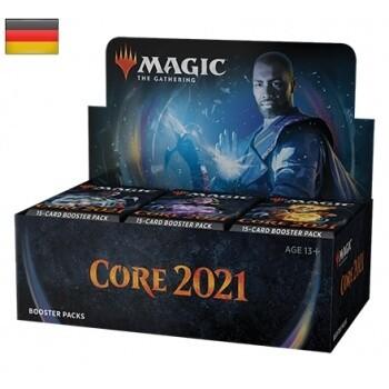 Magic The Gathering - Hauptset 2021 - Booster (D) - Magic