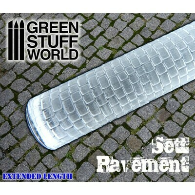 STRUKTURWALZE Rolling Pin Sett Pavement - Greenstuff World