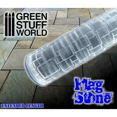 STRUKTURWALZE Rolling Pin Flagstone - Greenstuff World