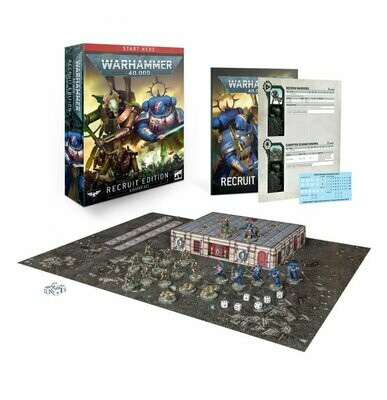 Warhammer 40,000 Recruit Edition (Englisch) - Games Workshop