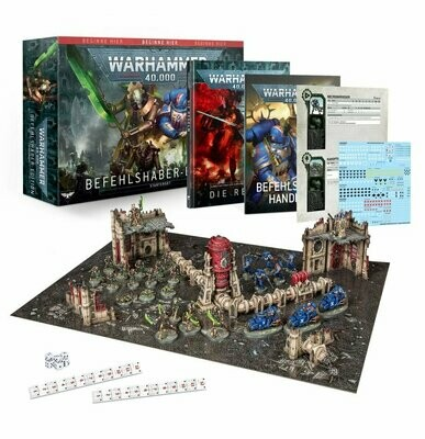 Warhammer 40.000: Befehlshaber-Edition - Games Workshop