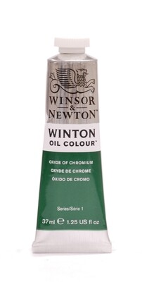 W&N-WINTON-ÖL-Oxide-Chrome-(37mL) - Winsor