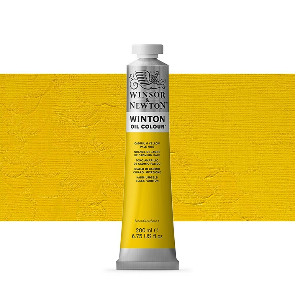 W&N-WINTON-ÖL-Cadmium Yellow Pale Hue-(37mL) - Winsor