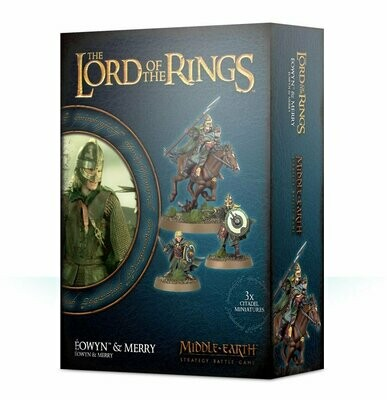 Eowyn & Merry- Lord of the Rings LotR Herr der Ringe - Games Workshop