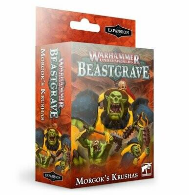 Warhammer Underworlds: Beastgrave – Morgok's Krushas (Englisch) - Games Workshop