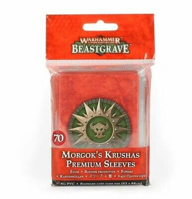 Premium-Kartenhüllen für Morgoks Brechaz Beastgrave - Games Workshop