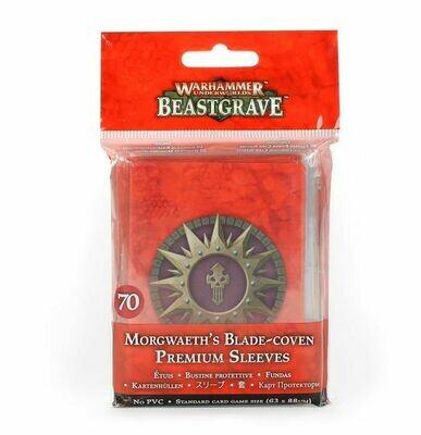 Premium-Kartenhüllen für Morgwaeths Klingenzirkel Beastgrave - Games Workshop