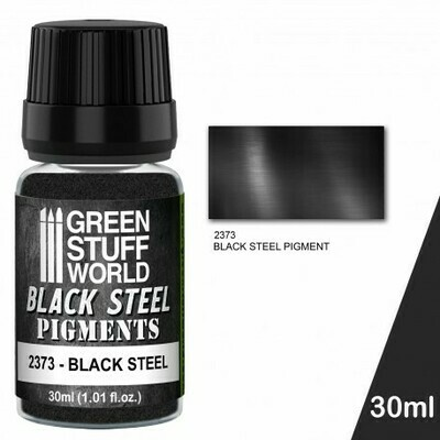 Pigment BLACK STEEL Pigments - Greenstuff World