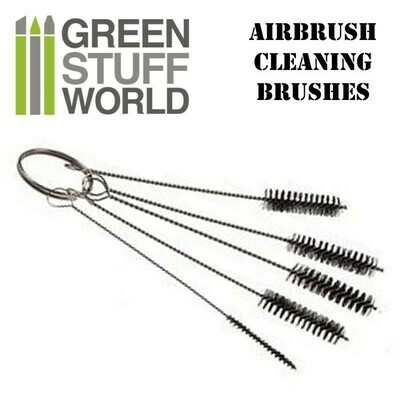 Airbrush-Reinigungsbürsten-Set Airbrush Brushes - Greenstuff World