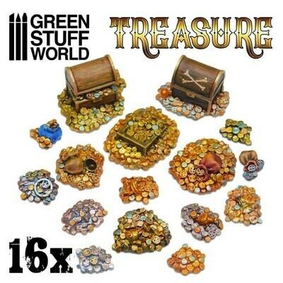 16x Treasure Schätze aus Harz - Greenstuff World