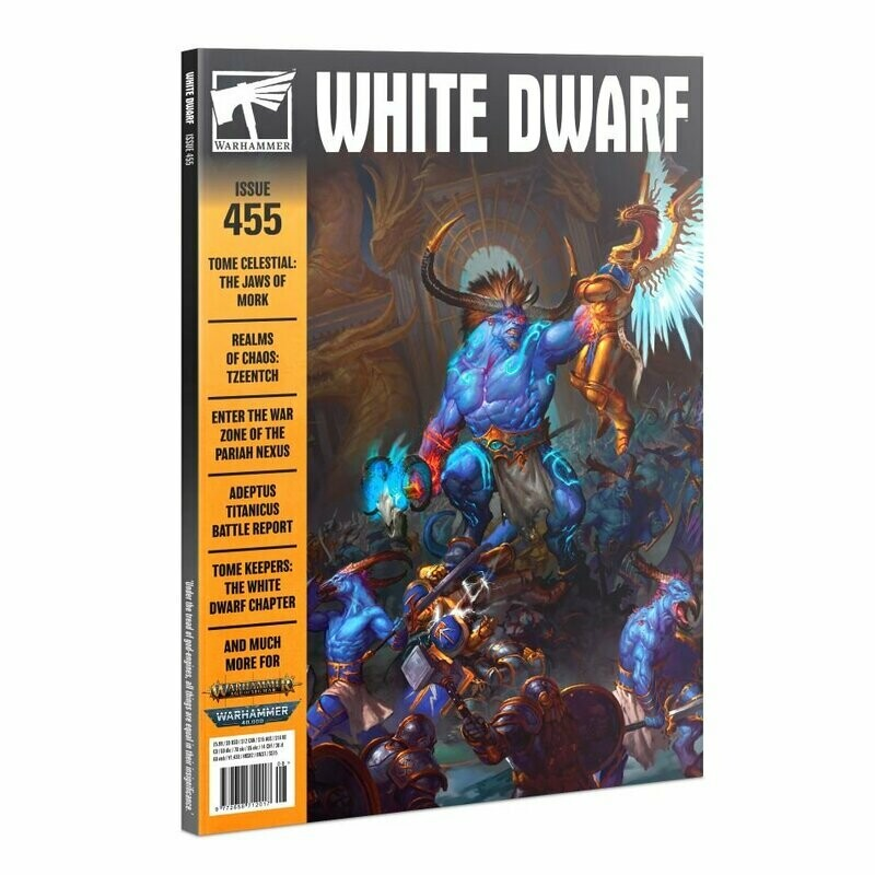 White Dwarf 455 August 2020 (Deutsch) - Games Workshop