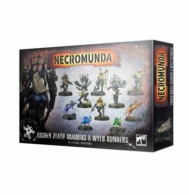 Escher Death-maidens und Wyld Runners Necromunda - Games Workshop