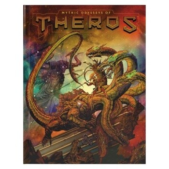 D&D Dungeons&Dragons - Mythic Odysseys of Theros Limited Edition Alternate Cover (E)