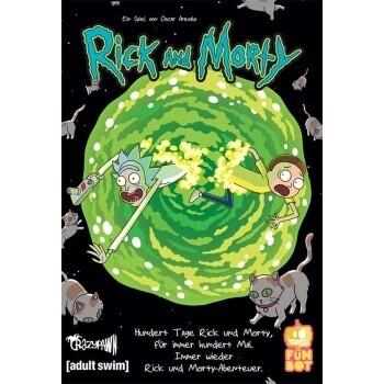 Rick and Morty: 100 Tage - DE - Pegasus Spiele