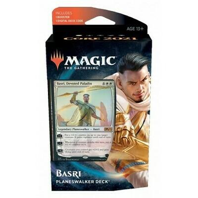 Magic the Gathering: Core Set 2021 Planeswalker Deck 1 - Basri (DE)