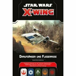 FFG - Star Wars X-Wing 2nd Edition Draufgänger und Fliegerasse (Hot Shots) - Deutsch