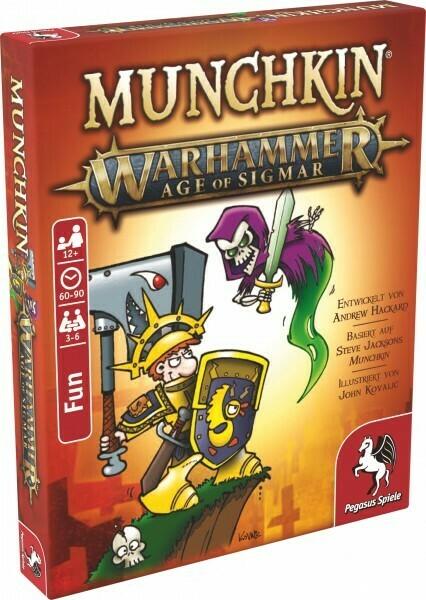 Munchkin Warhammer Age of Sigmar - Pegasus Spiele
