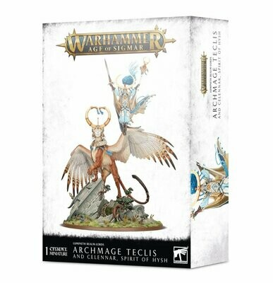 Archmage Teclis und Celennar, Spirit of Hysh - Lumineth  - Warhammer Age of Sigmar - Games Workshop