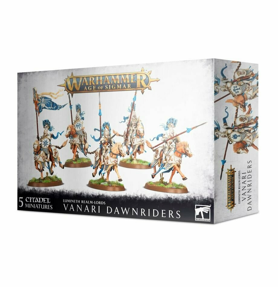 Vanari Dawnriders - Lumineth  - Warhammer Age of Sigmar - Games Workshop