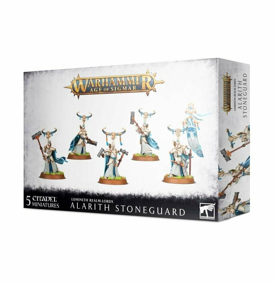 Alarith Stoneguard - Lumineth  - Warhammer Age of Sigmar - Games Workshop