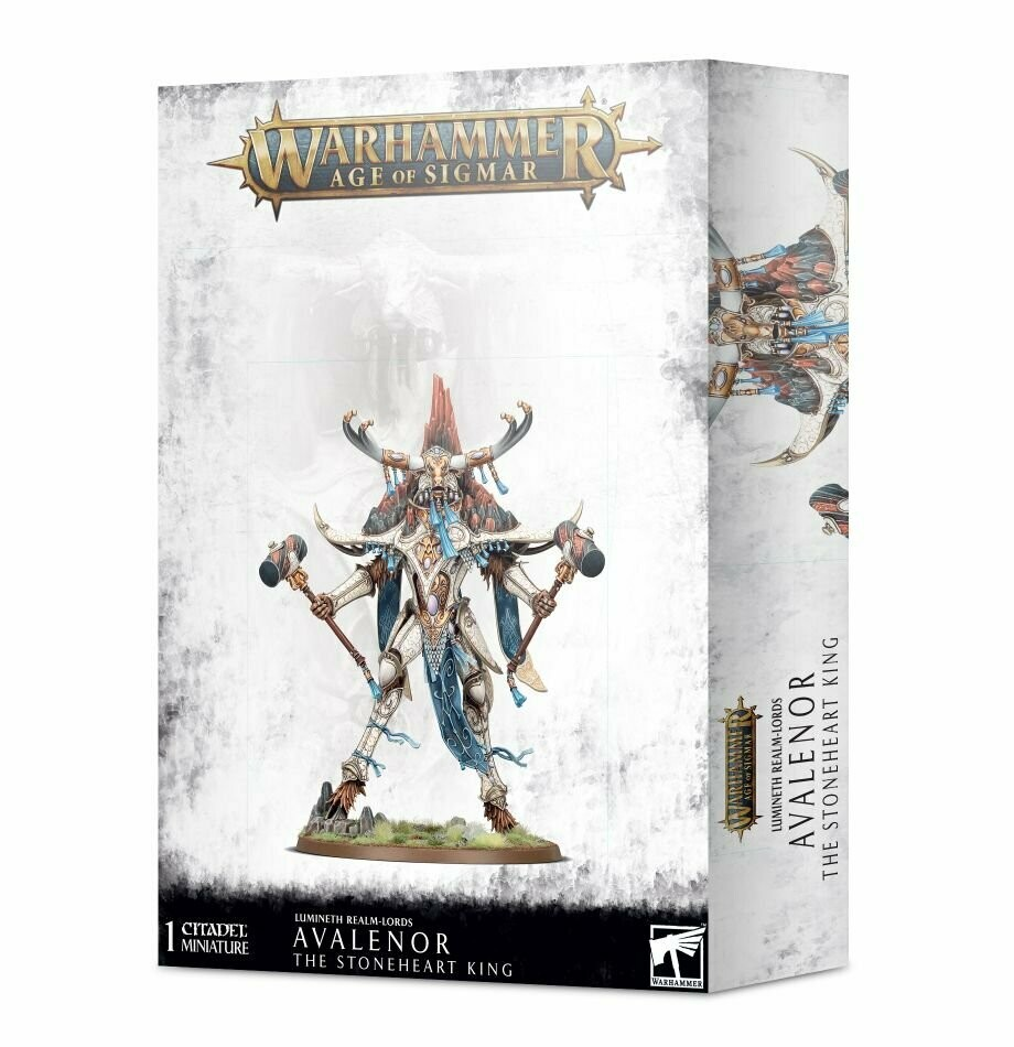 Avalenor Stoneheart King Spirit of the Mountain - Lumineth  - Warhammer Age of Sigmar - Games Workshop