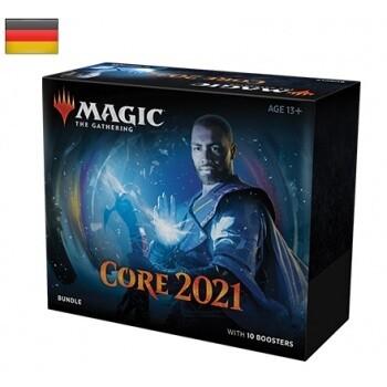Magic The Gathering - MTG - M21 Core Set Bundle Hauptset 2021 - DE
