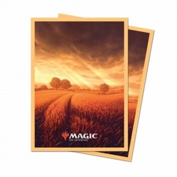 UP - Standard Deck Protector - Unstable Lands Plains (100 Sleeves)