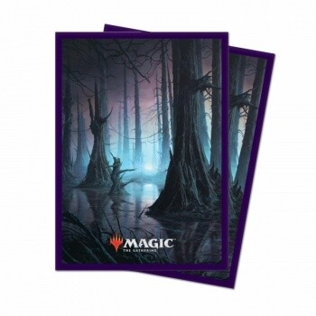 UP - Standard Deck Protector - Unstable Lands Swamp (100 Sleeves)