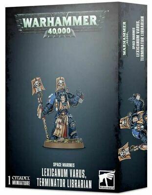 Space Marine Lexicanum Varus Terminator Librarian [GW WEB EXKLUSIV] - Warhammer 40.000 - Games Workshop