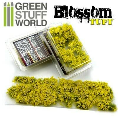 Blumenbüscheln Blossom Tufts - Selbstklebend - 6mm - GELBE Blumen - Greenstuff World