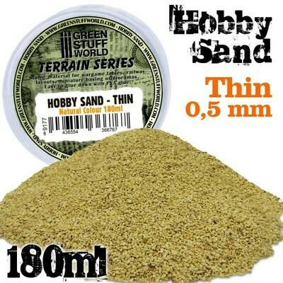 Feiner Modellbau-Sand 180ml Fine Hobby Sand Thin - Natürliche - Greenstuff World