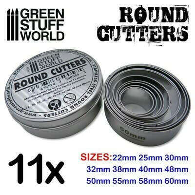 Round Cutters - Greenstuff World