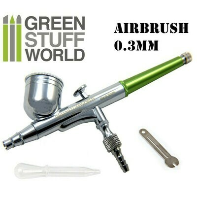 Double-Funktion GSW Spritzpistole 0.3 mm - Greenstuff World