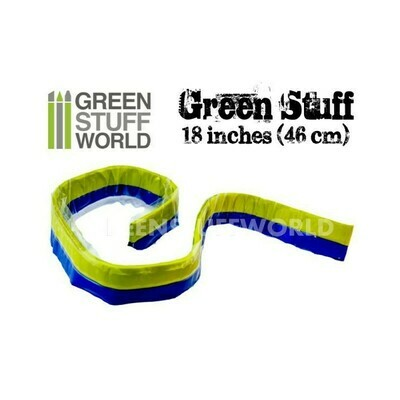 Green Stuff Modelliermasse Rolle 46 cm - Greenstuff World