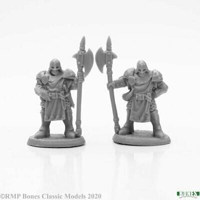 Town Guard (2) - Bones - Reaper Miniatures